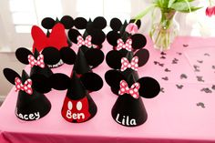 Mickey & Minnie Mouse party Hats