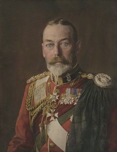 King George V in the kit of the Black Watch