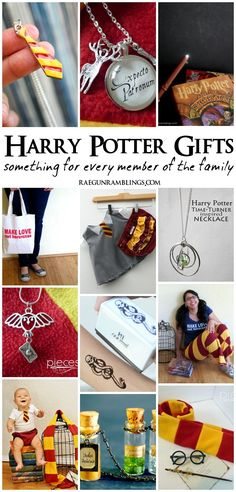 Harry Potter Gifts for the whole family. Perfect for Christmas or any time - Rae Gun Ramblings