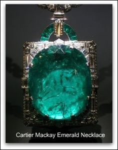 Cartier - Mackay Emerald and Diamond Necklace