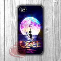 Once Upon a time sailing to the moon -3NDH for iPhone 6S case, iPhone 5s case, iPhone 6 case, iPhone 4S, Samsung S6 Edge