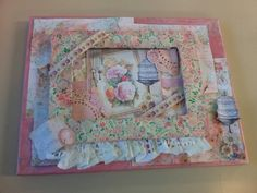 One of my collage canvasses. Used my craft studio cd artwork,craft mag free gift and bits and bobs....keren craftymanxie