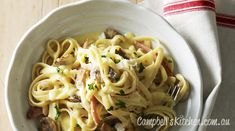 Lighter carbonara