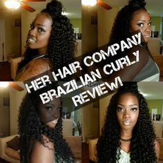 Alrighty guys!!! I made it! lolololol Here's the video with all the details of this hair that has made waves!!!!! (Or should I say curls :) Check it out!! www.marykbella.com   Amazing Curls! | Her Hair Company | Brazilian Curly | Review