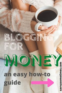 Blogging for money from home sounds like a dream. It's not as scary as it looks if you follow a step-by-step guide. #bloggingformoney #bloggingtips #bloggingforbeginners