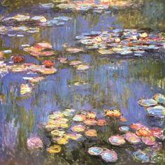 Claude Monet  : Water Lilies 1916