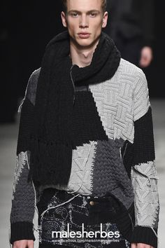 [ Fashion ] Mihara Yasuhiro Fall 2015 Please follow us on our FACKBOOK page, if you interested and also to know more about us and crochet, knitting, arts, fashion, movies and...