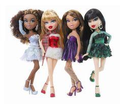 Bratz Featherageous CLOE Doll Plus Accessories ~ Create Amazing Hairstyles ~ NEW