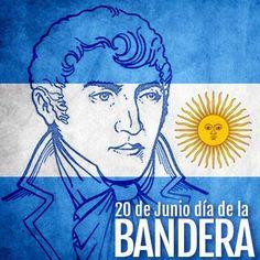 20 de Junio, Día de la Bandera Argentina! Decoupage, Gaucho, Folklore, Origami, Beautiful Pictures, Country, Ideas, Gardens, Frases