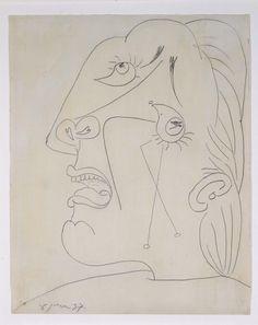Estudio para mano. Dibujo preparatorio para «Guernica» 1937 PP