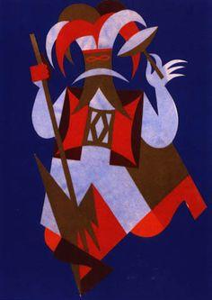 Fortunato Depero, Italian Futurism. 1922