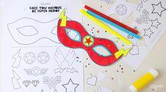 atelier masque super heros