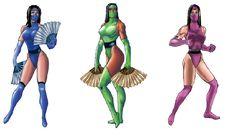 Kitana Jade Mileena by xxxphx on DeviantArt Mortal Kombat Cosplay, Mortal Kombat Costumes, Jade Mortal Kombat, Kitana Mortal Kombat, Mortal Kombat Games, Halloween Inspo, Halloween Cosplay, Halloween Costumes, Kitana Costume