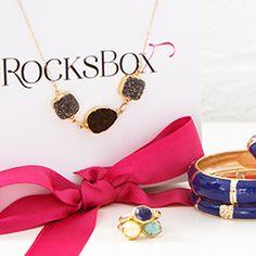 #rocksbox  monthly jewelry club
