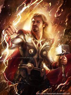 Thor Odinson by keelerleah.deviantart.com on @DeviantArt
