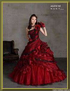 Red Wedding Gowns, Couture Wedding Gowns, Burgundy Gown, Casual Dresses, Fashion Dresses, Fantasy Gowns, Quinceanera Dresses, Beautiful Gowns, Dream Dress