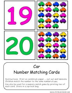 Transportation Self-Correcting Quantity Puzzles 's Learning Games For Kids, Preschool Learning Activities, Preschool Lessons, Math For Kids, Math Classroom, Preschool Activities, Color Worksheets For Preschool, Numbers Preschool, Kindergarten Math Worksheets