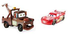 Disney Pixar CARS Mater and Lightning McQueen Toys Pullback Vehicles Set of 2  $39.99