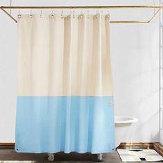 Organic Cotton Shower Curtain - Quiet Town