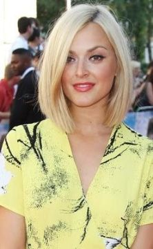 Long Bob - Hairstyles and Beauty Tips --Working towards this. Chic and fierce, love it.. Think it would work with my round face.
