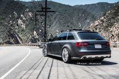 2013 Audi Allroad 20-inch BD-1 squared silver blaque diamond