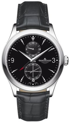 162.84.7n Jaeger LeCoultre Master DualTime Mens