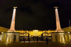 Schonbrunn - Hlavná brána, vstup na čestné nádvorie