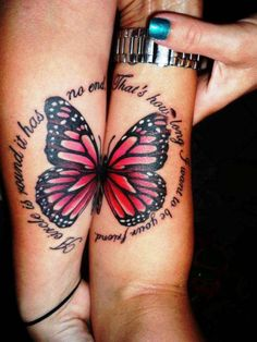 Popular Tattoo Design | Butterfly Tattoo On Wrist