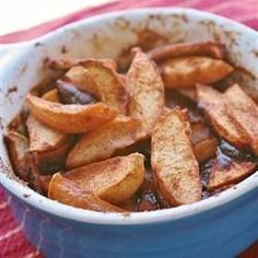 "Delicious Cinnamon Baked Apples | ""These baked apples taste simply great on a cold winter evening or any other evening. Plus the house smells just divine while cooking them."""