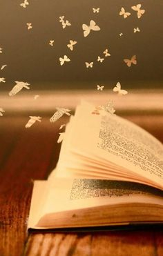 Fantasy ~ Book ~ Birds & Butterflies