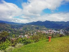 View of Bajo Boquete from the terrace of Bella Vista! Beautiful view! Want to see the view for yourself? Come to Panama, Boquete and you'll find out!