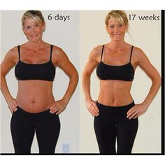 Kettlebell workout and good nutrition postpartum results, WOW!!  www.getfitandyumm...