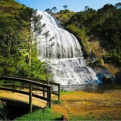Cachoeira Véu de Noiva em Urubici, SC, Brasil !!! (49 pieces)