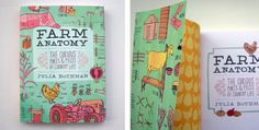 Book | Farm Anatomy - The Curious Parts & Pieces of Country Life | Julia Rothman (1 of 8)