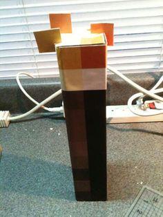Minecraft IRL: Torches