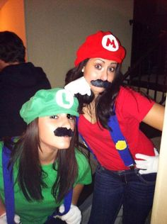mario costumes! @Jenni Ramoya Ramoya Juntunen Peña