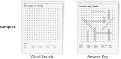 make your own word searches free!