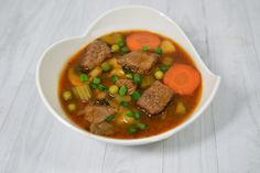 The veggies shine in this slow cooker loaded beef stew that packs plenty of flavor with tons of fresh, savory, and satisfying nutrients.