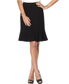 Kasper Petite Skirt, Seamed A-Line Suiting - Womens Petite Skirts - Macy's