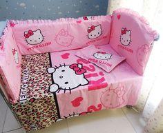 39.80$  Watch now - https://alitems.com/g/1e8d114494b01f4c715516525dc3e8/?i=5&ulp=https%3A%2F%2Fwww.aliexpress.com%2Fitem%2FDiscount-6pcs-Hello-Kitty-100-Cotton-Crib-Bedding-For-Babies-Crib-Infant-Beding-Set-include-bumper%2F32517077180.html - Discount! 6pcs Hello Kitty 100% Cotton Crib Bedding For Babies, Crib Infant Beding Set ,include(bumper+sheet+pillowcase) 39.80$
