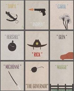 Walking Dead Minimalist