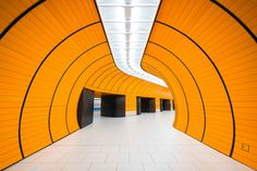 Chris Forsyth is an architectural photographer from Montreal, he has an obsession with underground forms of public transport. His photo series Metro looks at the futuristic underworlds of Munich, Berlin and Montreal public railway.