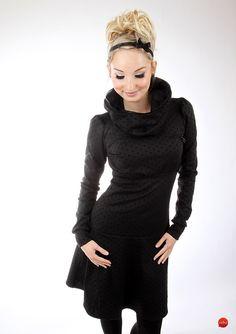 """Knielange Kleider - MEKO Kleid """"FLOTTY_1P/SP1"""" - ein Designerstück von meko bei DaWanda"""