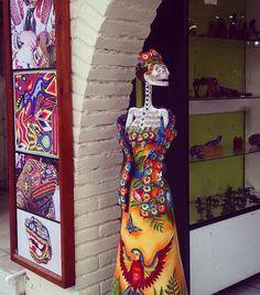 La Catrina, Arte Huichol, México