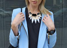 Style by Stassi | Stassi Schroeder wearing a Stassi x Shop Prima donna necklace #StassixSPD
