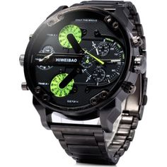 Buy Shiweibao Male Dual Movt Quartz Watch with Date Function Leather Band, sale ends soon. Be inspired: discover affordable quality shopping on Gearbest Mobile! Stylish Watches, Luxury Watches, Sport Watches, Watches For Men, Wrist Watches, Nice Watches, Men's Watches, Apple Watch Fashion, Oversized Watches