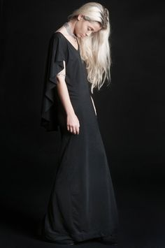 "LIP SERVICE Widow ""Die With Me"" long dress #000903"