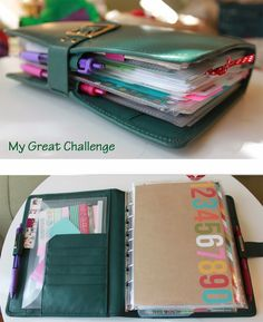 A5/Classic Planner setup and supplies - 2014