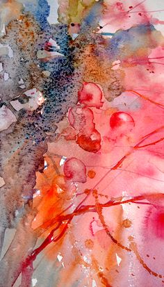 """The Magic of Watercolour Painting Virtual Gallery - Jean Haines, Artist - Autumn, Title: """"Autumn Glory"""""""
