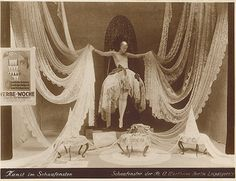 Store window display of the Wertheim department store for Christmas from Flickr, Berlin ca. 1925
